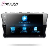 Topnavi 10.1 Car GPS Octa core android 7.1 для Honda CRV 2007 2008 2009 2010 2011 авто стерео Мультимедиа навигация с 3G