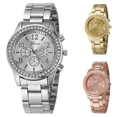 b09ab49f81f Mulheres Relógios de luxo strass relógios kobiet Espessura da Caixa   7.5mm