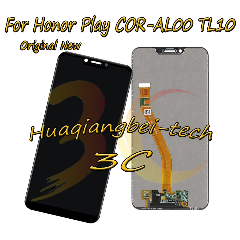6.3 Original New For Huawei Honor Play COR-L29 COR-AL00 COR-TL10 Full LCD DIsplay +Touch Screen Digitizer Assembly 100% Tested6.3 Original New For Huawei Honor Play COR-L29 COR-AL00 COR-TL10 Full LCD DIsplay +Touch Screen Digitizer Assembly 100% Tested