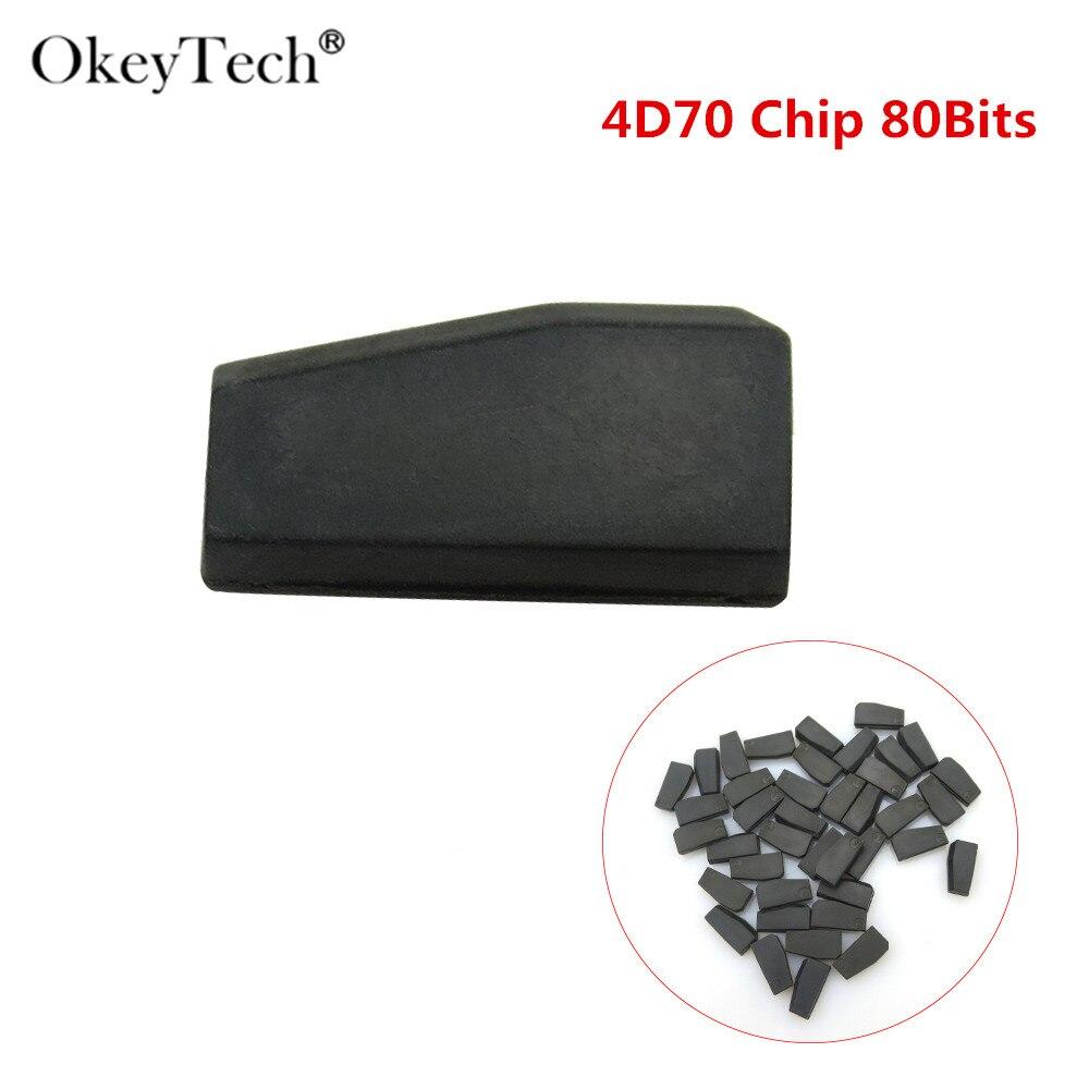 OkeyTech высококачественный 5 шт./лот чип транспондера CN4D70 80 бит подходит для копирования G чипа 4D61/62/65/66/67/68/69/G82