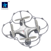 Cheerson RC Helicopter CX10 CX 10 2 4GHz 4CH RC Mini Drone Quadcopter UFO With Headless