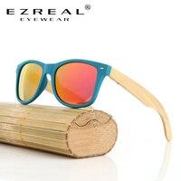 EZREAL Nowy tanie bamboo okulary handmade bambusa drewniane okulary marki projektowanie okulary dla mężczyzn kobiet niestandardowe logo dostępne