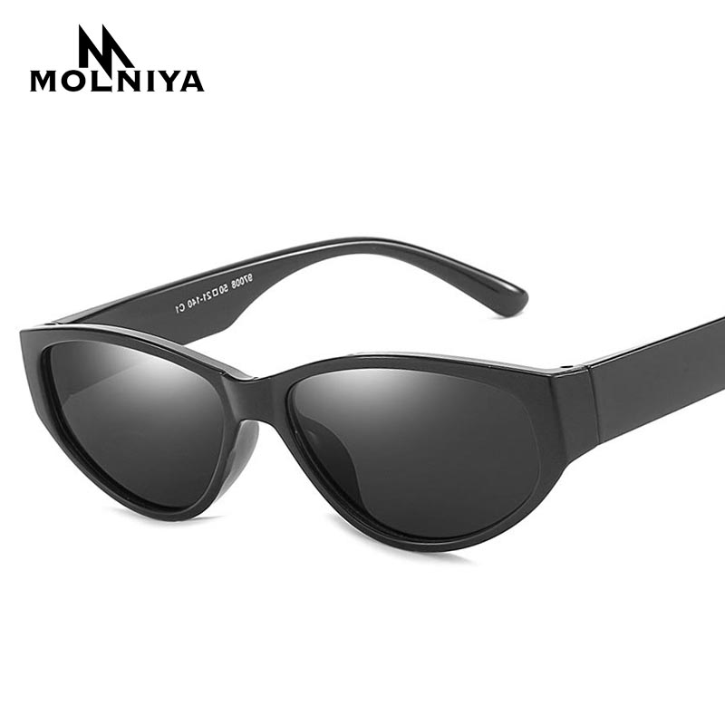 8140fb1ffe MOLNIYA Oval Cat Eye Sunglasses Lunette De Soleil Femme 2019 New Men Sun  Glasses Zonnebril Dames Small Round Lenses Eyeglasses