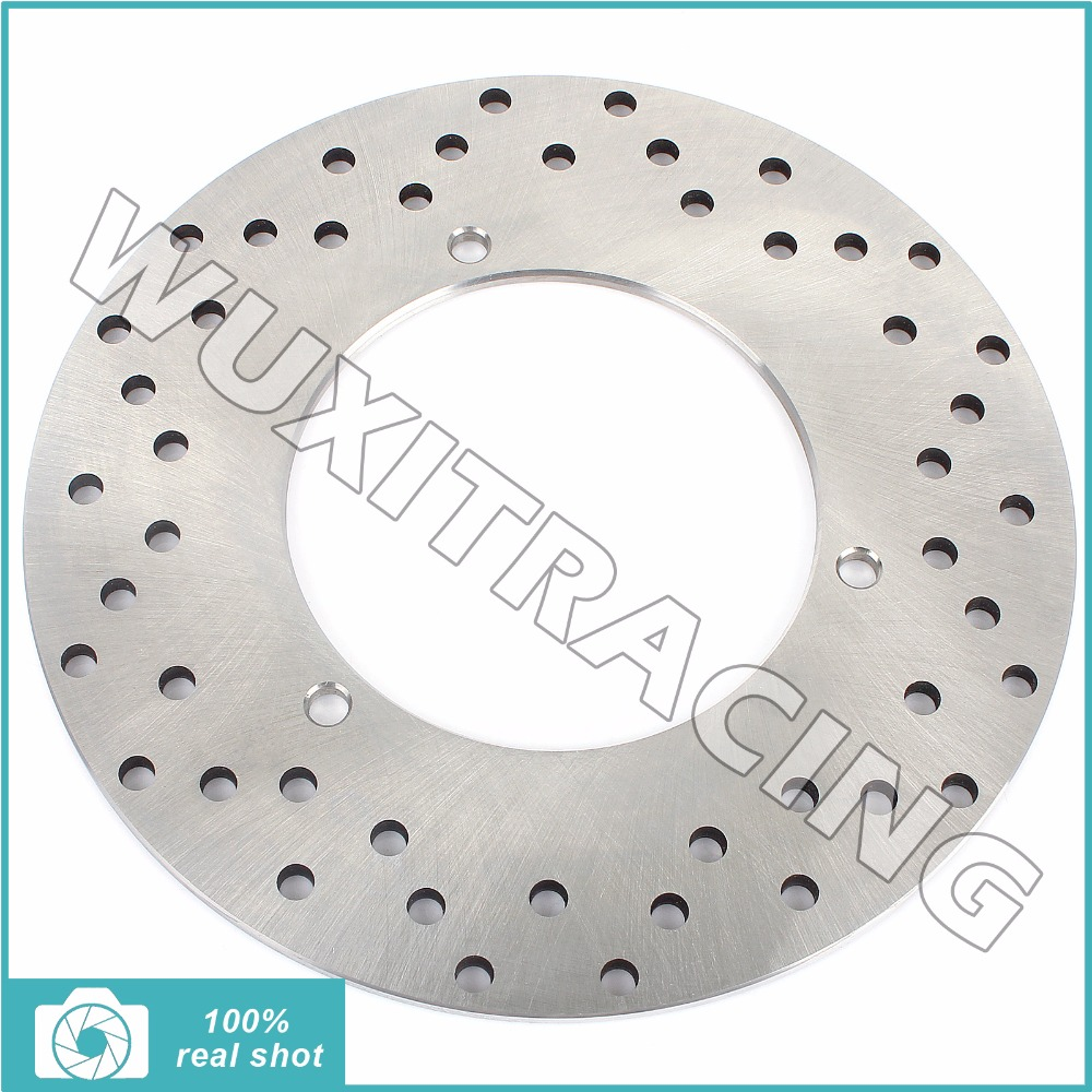 New Silver Round Rear Brake Disc Rotor for YAMAHA YP 250 Majesty / DX de Luxe ABS 1999 2000 2001 2002 2003 2004 2005 2006 2007 mfs motor motorcycle part front rear brake discs rotor for yamaha yzf r6 2003 2004 2005 yzfr6 03 04 05 gold
