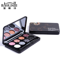Baolishi 8 Color Matte Best Natural Smokey Eyeshadow Palette Urban Naked Glitter Shimmer Eye Shadow Brand