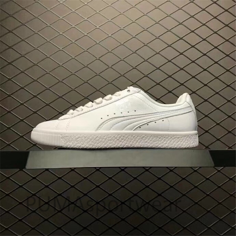 2018 New Arrival Puma Clyde L Foll Women s and Men s Sneakers Breathable Badminton  Shoes Size36- 7d9afbcbcfa5