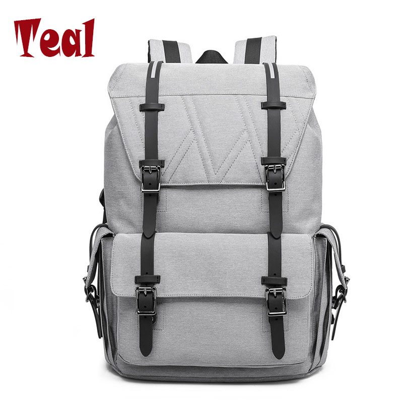 Men's bag Retro Large capacity Multifunction Anti-theft Laptop Backpacks School Bags for teenagers High Quality 2017 fashion men usb charge backpack anti theft laptop backpacks large capacity fashion school bags boys teenager casual rucksack bag bp0165