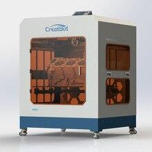 Промышленные creatbot 3D принтер D600 двойной экструдер 600*600*600 мм Большой Размеры металл принтер 3.0 мм ABS PLA нити