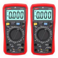 Digital Multimeter Counts Volt Meter Manual Auto Ranging Measures Voltage Tester Current Resistance AC / DC Backlight Ammeter