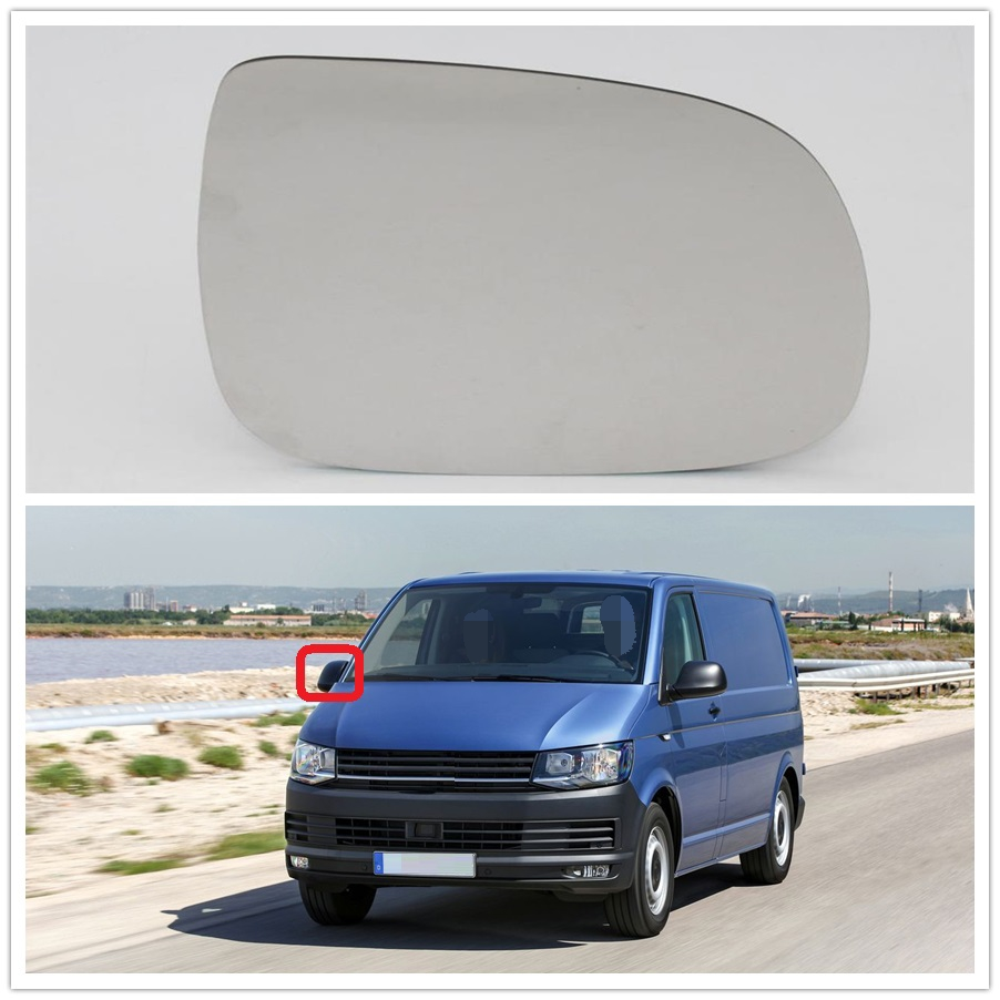 Right Side For VW Transporter Multivan T5 T6 2010 2011 2012 2013 2014 2015 2016 2017 2018 Car-Styling Heated Rear Mirror Glass
