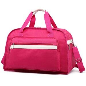 Women Travel Bags Waterproof Female Shoulder Bag Luggage Handbag Weekend Travel Bags For Women 09T