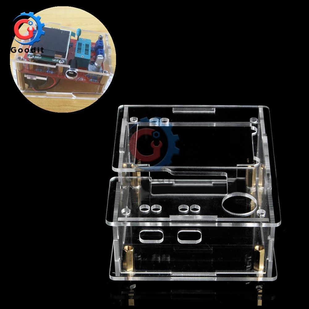 ケースシェルtft GM328 トランジスタテスターダイオードlcr esrメータpwm方形波Mega328 ためトランジスタテスターdiyキット