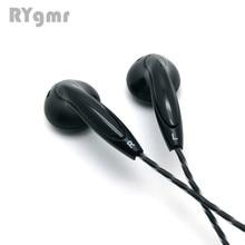 RY4X originale in ear Auricolare 15 millimetri di musica di qualità del suono HIFI Auricolari (MX500 stile auricolare) 3.5 millimetri L Flessione hifi cavo