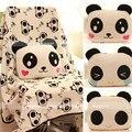 Caliente venta 1 unid 80 cm suave creativa linda cara panda amortiguador de la felpa resto manta almohada juguete de peluche de muchacha de los niños regalo de cumpleaños