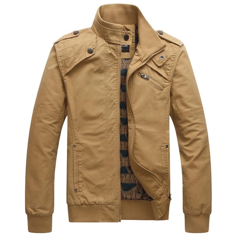 Image 4 - Мужская куртка бомбер, мужская куртка в стиле милитари на осень и зиму, 2019Куртки