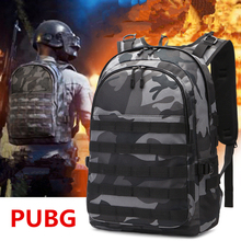 купить Game Playerunknown's Battlegrounds PUBG Cosplay Level 3 Instructor Backpack Outdoor Multi-functional Large Capacity Backpack New дешево