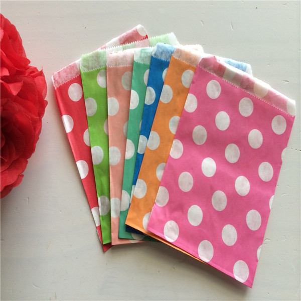 5000pcs Assorted Design Party Paper Gift Bags for Birthday Favors, Snacks, Decoration, Arts & Crafts, Event Supplies