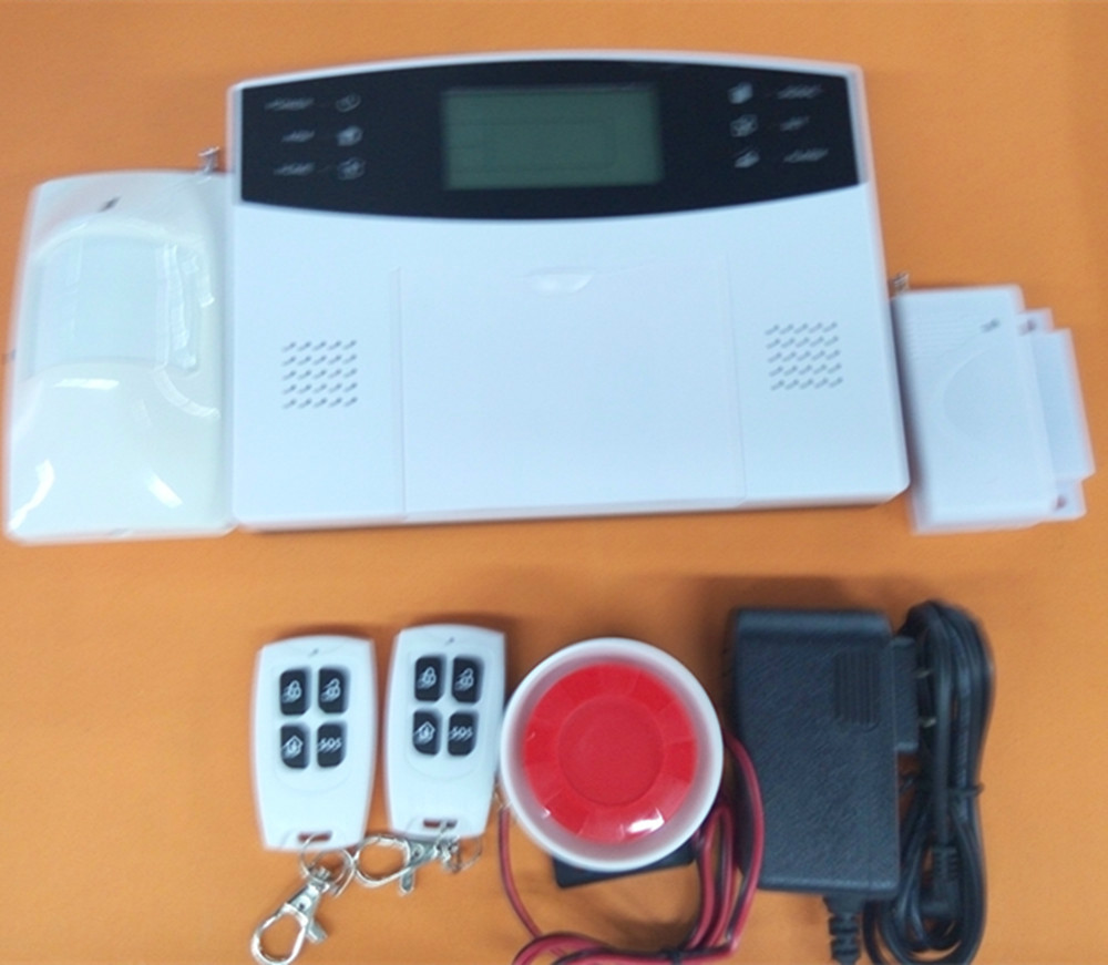 Russian/Spanish/English/Italy/French/Portugeese/Polish/Germany Language GSM Alarm System 433mhz