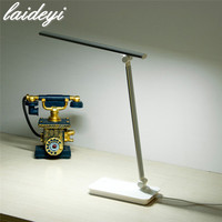 LAIDEYI LED Folding Desk Lamp USB Charging Table Lamp Eye Friendly Dimmable Office Light Led Reading