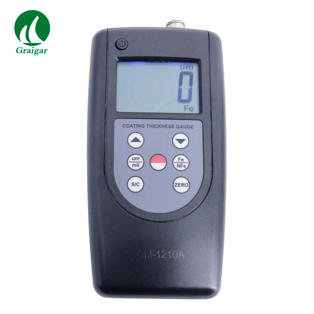 High Precision Coating Thickness Gauge CM 1210A Iron Base Aluminum and Coating Thickness Gauge