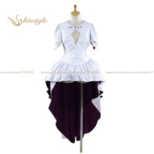 Kisstyle Fashion Puella Magi Madoka Magica Madoka Kaname The Finale Uniform COS Clothing font b Cosplay