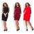 2017 mujeres de la manera más el tamaño elegante del cordón dress o-cuello del otoño tamaño grande oficina dress casual tamaño grande dress vestidos patry 6XL