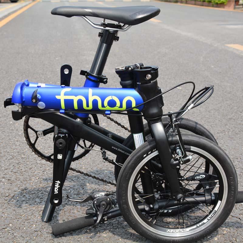"Fnhon Freedom Aluminum Folding Bike 14 16 V Brake 3 Speed 9T 13T 17T Minivelo Mini Fnhon Freedom Aluminum Folding Bike 14"" 16"" V Brake 3 Speed 9T 13T 17T Minivelo Mini velo Bike Urban Commuter Bicycle Foldable"