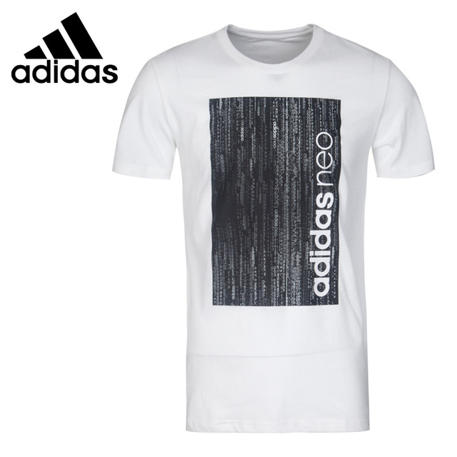 US $41.2 |Original New Arrival 2017 Adidas NEO Label M CS GRAPHIC T Men's T shirts short sleeve Sportswear in Skateboarding T Shirts from Sports &
