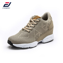 FANDEI 2017 sneakers women classic retro running shoes women breathable mesh high heel sport shoes zapatillas hombre deportiva