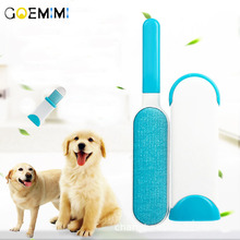 Pet Cat Hair Remover Brush Fur And Lint Removal with Self-Cleaning Base Cleaning Slicker for Dogs Cats 2019