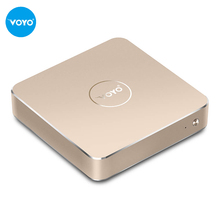 VOYO Mini PC Intel Pentium N4200 Windows10.1 4GB DDR3L RAM+128GB SSD USB3.0 Home TV box and office tablets dual use