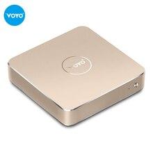 VOYO Mini PC Intel Pentium N4200 Windows10.1 4GB DDR3L RAM+128GB SSD USB3.0 Home TV box and office tablets dual use