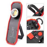 60W Tragbare Taschenlampe Taschenlampe USB Aufladbare Arbeit Licht Magnetische COB Laterne Hängen Outdoor Camping Haken Lampe Licht