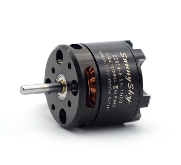 1 PCS SunnySky X2814 900KV 1000KV 1100KV 1250KV <font><b>1450KV</b></font> Outrunner External Rotor Brushless Motor for RC Aircraft Quadrocopter image
