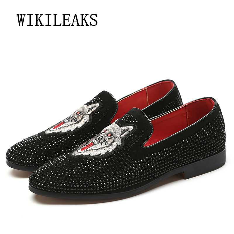 2018 mens embroidery shoes leather italian formal snake dress office footwear luxury brand fashion elegant oxford shoes for men цены онлайн