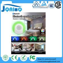 Ilight q1 smart wireless bluetooth altavoz music led nightlight control de app parlante bocinas bluetooth portátil para iphone 7(China (Mainland))