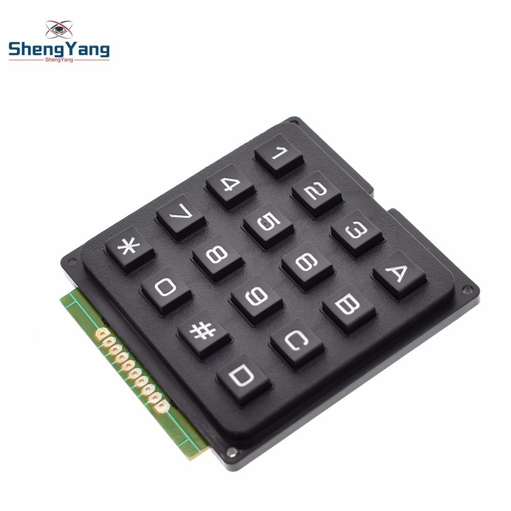 4x4 4*4 Matrix Keypad Keyboard module 16 Botton mcu For Arduino DIY MF