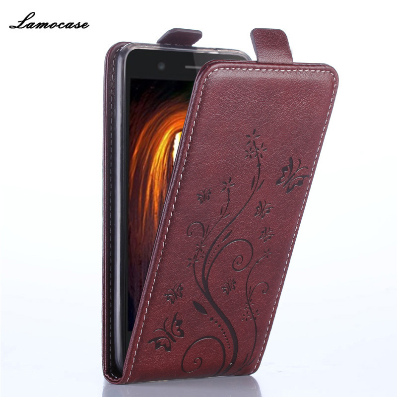 Flip Leather Case For Alcatel One Touch Idol 3 4.7 inch OT-6039 6039A 6039K 6039Y Printing Cover Wallet Style Phone Bags & Cases