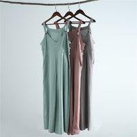 Women Linen Cotton Jumpsuit Casual Wide Leg Pants Rompers Adjustable Strap Overalls Soft Comfortable Suspender Trousers G062603