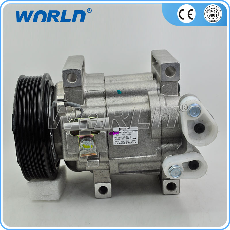 73111SC020 Z0012269A auto air ac compressor for Subar Impreza/Forester 2.5L 2.0L 1999-2004 12V