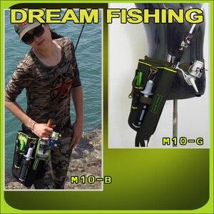 Image 5 - Сумка для рыбалки Dream Fishing 19x6x33 см + футляр для приманки 1200D, нейлоновая поясная сумка для ног, держатель для удочки, инструменты, чехол для хранения, Pesca Bolsa Peche