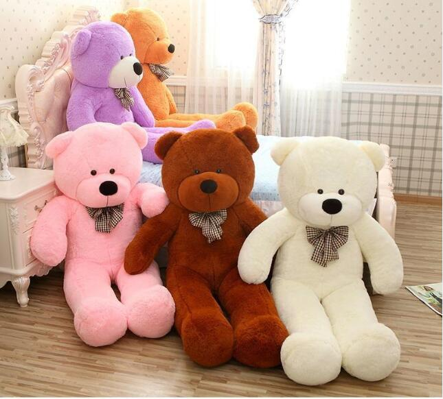 Kawaii Genuine 100CM Hug Teddy Bear Urso De Pelucia Plush Stuffed - პლუშები სათამაშოები - ფოტო 1