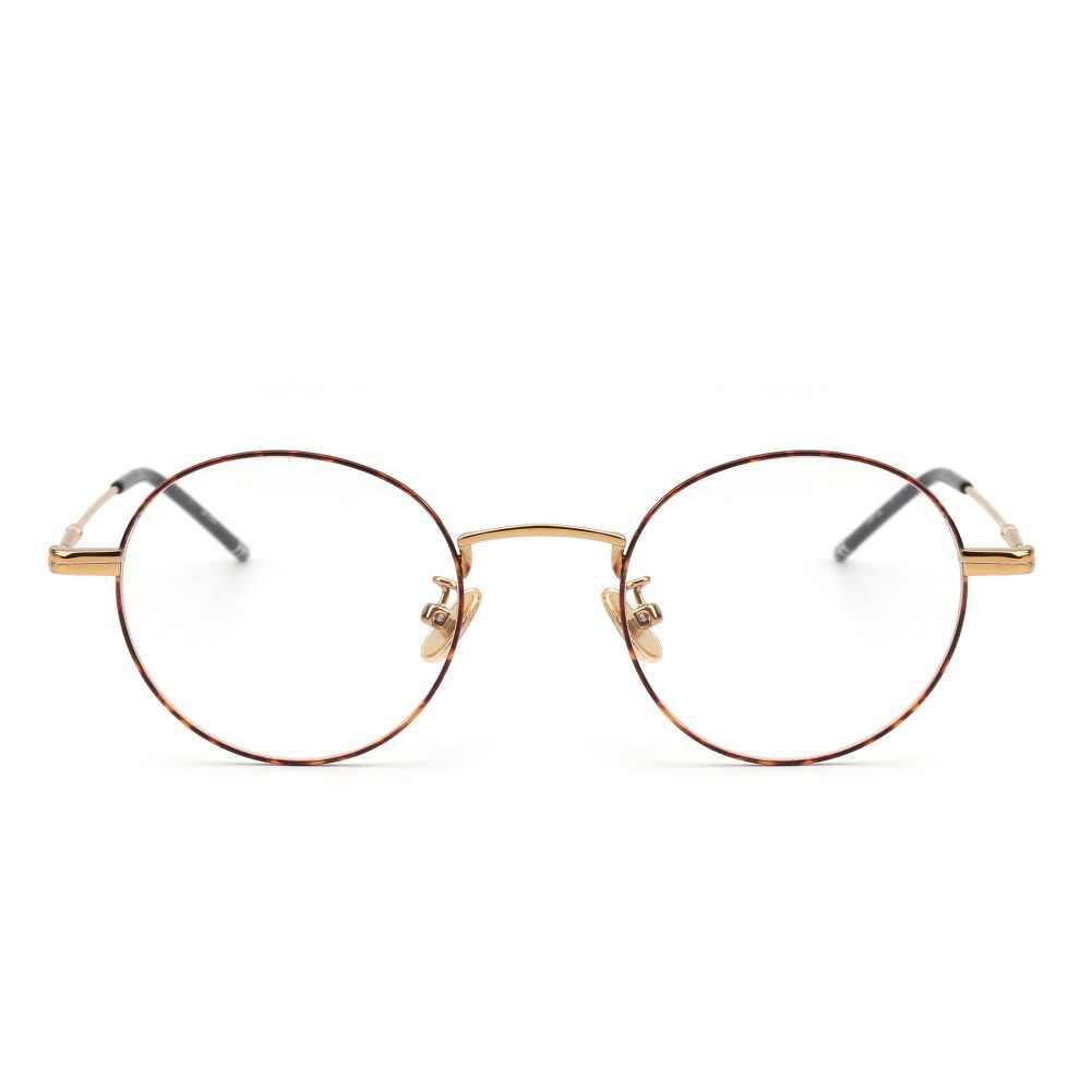 cd19dcdd8d8 Jim halo round wire rim glasses circle frame clear lens eyeglasses optical  eyewear women men jpg