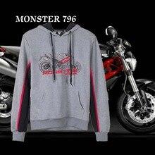 KODASKIN Men Cotton Round Neck Casual Printing Sweater Sweatershirt Hoodies for Monster 796 Monster796