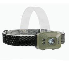 LED 500 Lumens 3 Modes Mini Headlamp Outdoor Headlight Waterproof Flash Head Lamp Torch Lantern For Hunting,Use AAA Battery недорого