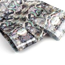 1 Roll Ocean Style Shell Nail Foils Gradient Marble Design Foil Sticker Art Thermal Transfer Decoration 4*100cm