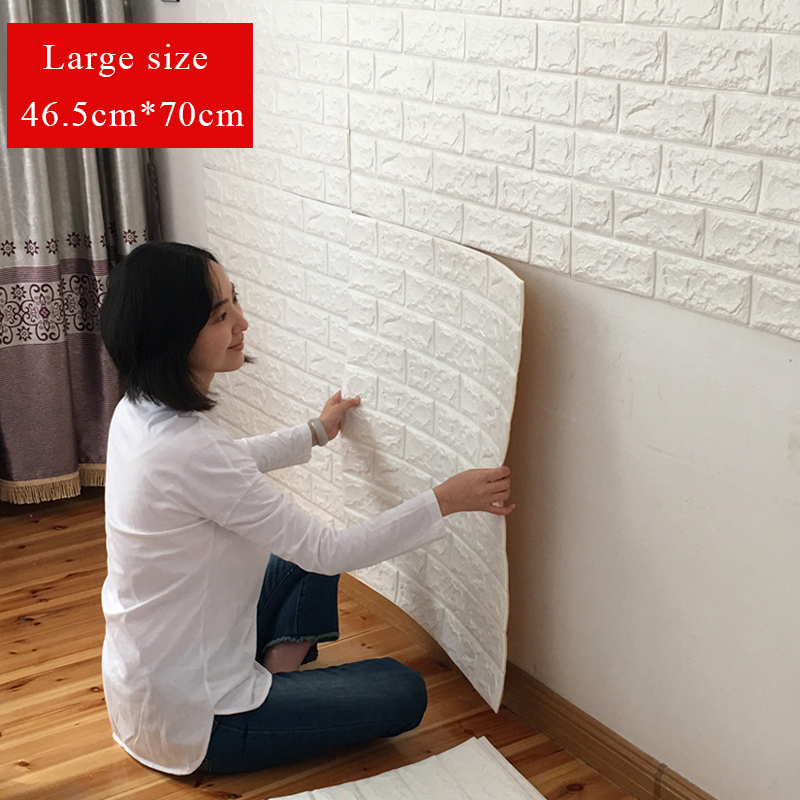 3d wall stickers creative tv background bedroom. Black Bedroom Furniture Sets. Home Design Ideas
