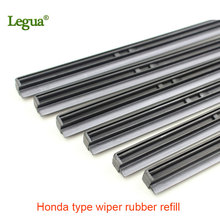 цена на Legua 1 pcs For Hond Accord CRV Hybrid Wiper Rubber Car Windscreen Wiper Blade refill Strips 1416171819202122242628