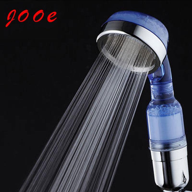 buy jooe water saving shower head anion spa high pressure showerhead handheld. Black Bedroom Furniture Sets. Home Design Ideas
