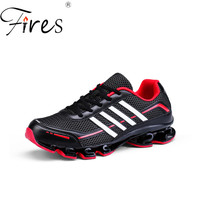 Fires 2017 New Men Running Shoes Trending Outdoor Sports Shoes 3D Fly Line Technology Spring Autumn